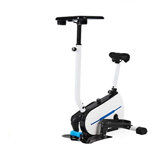 Mini Stepper, Cross Trainer Oefening Elliptical 2-in-1 Cardio Weightloss Workout Machine met Seat Pulse Hartslagsensors